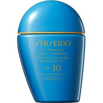 Shiseido Sun Care Protective Liquid Foundation voděodolný tekutý make-up SPF 30 odstín Dark Beige  30 ml