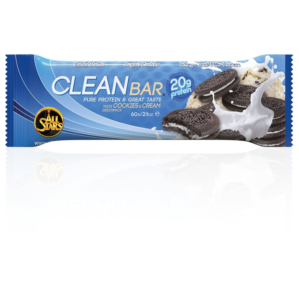 ALL STARS Clean Bar sušenka-smetanar 60 g