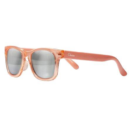 Chicco Brýle sluneční transparentní dívka lososové 24m+