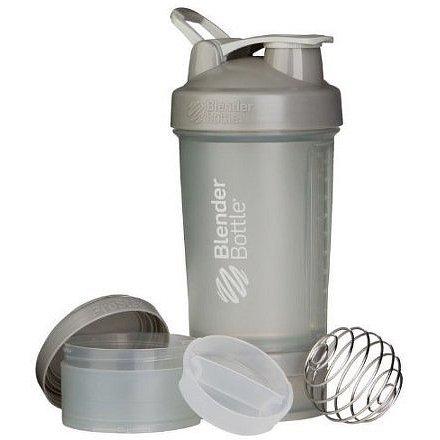 Blender Bottle Šejkr ProStak se zásobníkem 650ml Jméno: Šejkr ProStak se zásobníkem 650ml šedý
