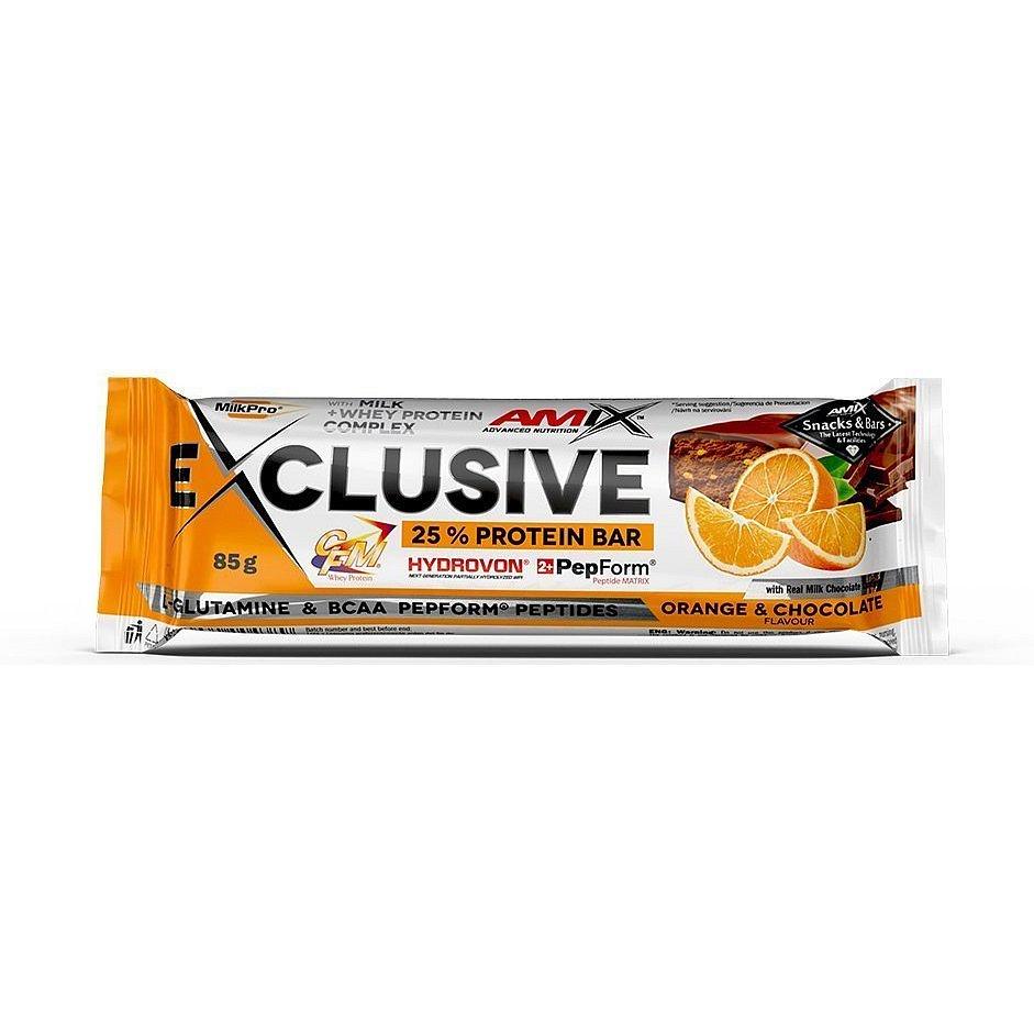 AMIX Exclusive Protein Bar, Pomeranč-čokoláda