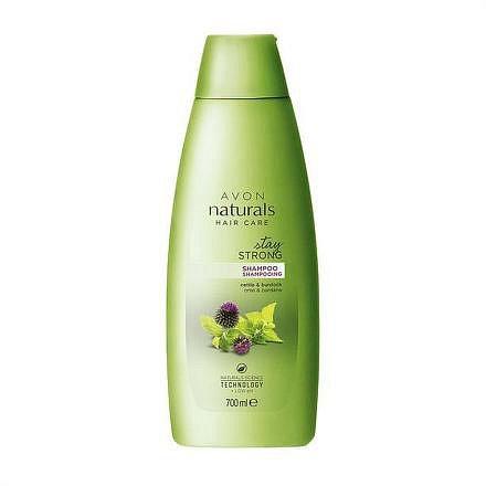Avon Šampon Kopřiva a lopuch Naturals 700 ml