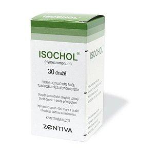 Isochol dražé 30 x 400 mg (lahv.)