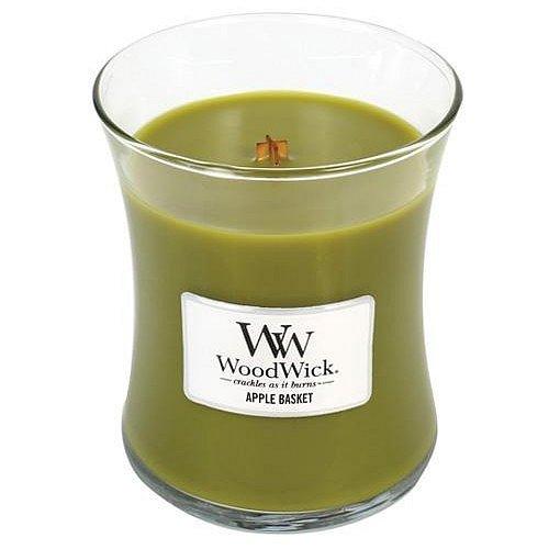 WoodWick Vonná svíčka váza Apple Basket  275 g