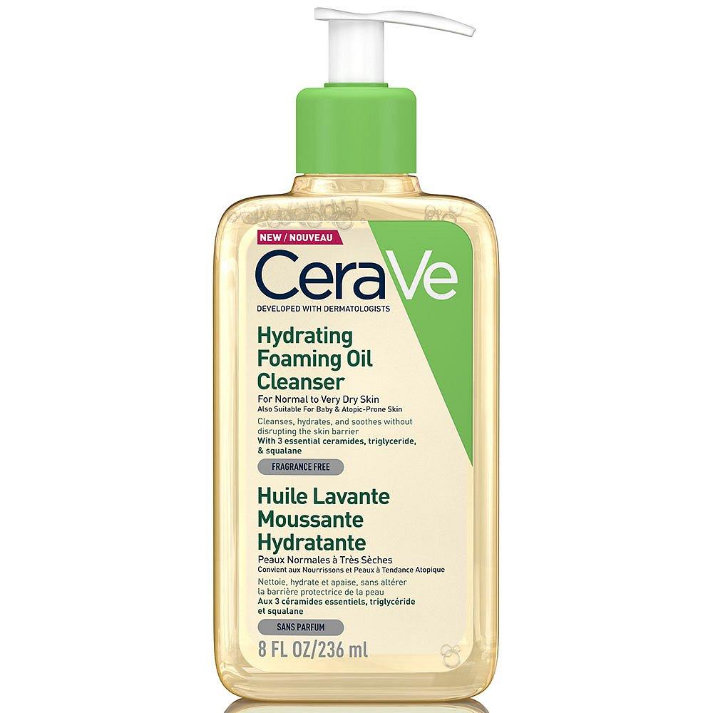 CERAVE Hydratační čisticí pěnící olej 236 ml