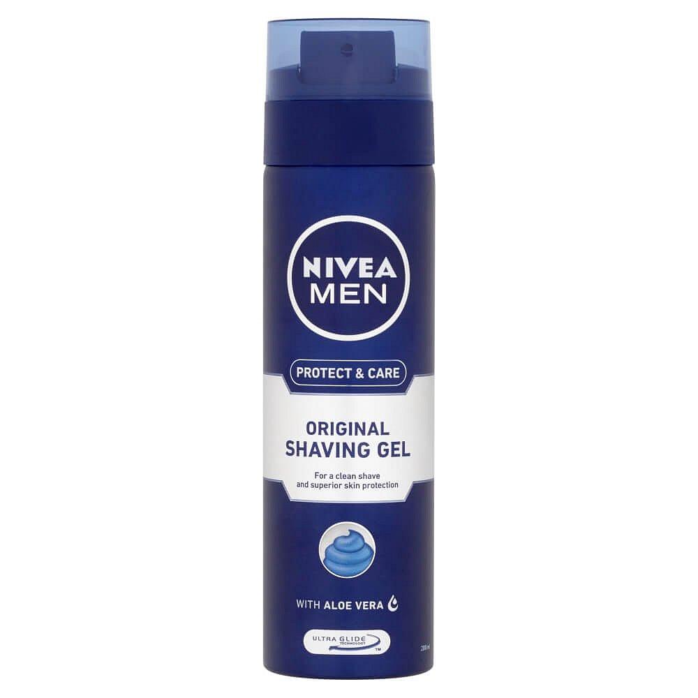 NIVEA MEN gel na holení Original 200 ml
