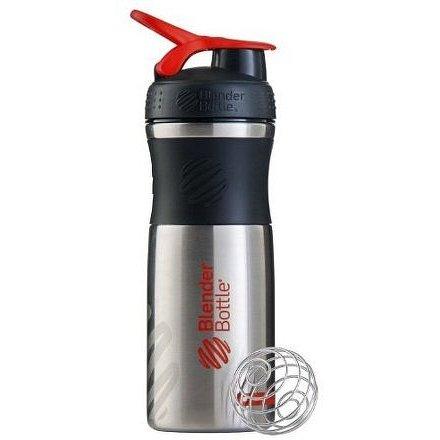 Blender Bottle Sport Mixer® nerezový Jméno: Sport Mixer® nerezový červené logo