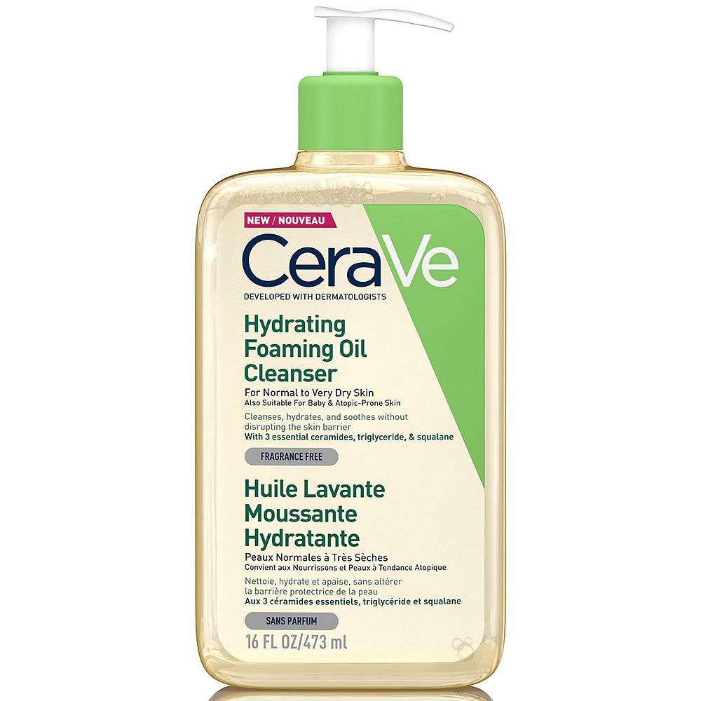 CERAVE Hydratační čisticí pěnící olej 473 ml