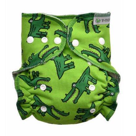 Kalhotková plena - přebalovací set patentky, crocodiles