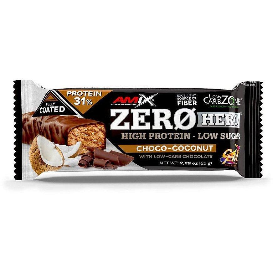 Amix Zero Hero 31% Protein Bar, Chocolate-Coconut, 65g