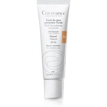 Avène Couvrance tekutý krycí make-up SPF 20 odstín 2.0 Natural 30 ml