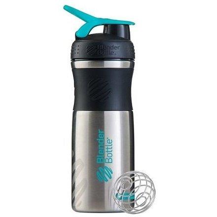Blender Bottle Sport Mixer® nerezový Jméno: Sport Mixer® nerezový tyrkysové logo