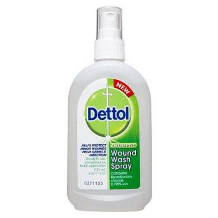 Dettol 0.2 % Antiseptický sprej dermální sprej roztok 1 x 100 ml