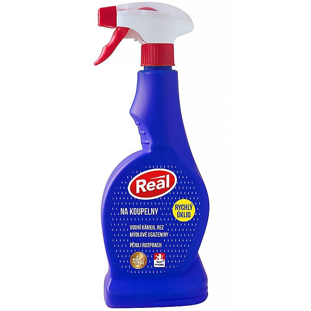 Real čistič koupelen spray 500g