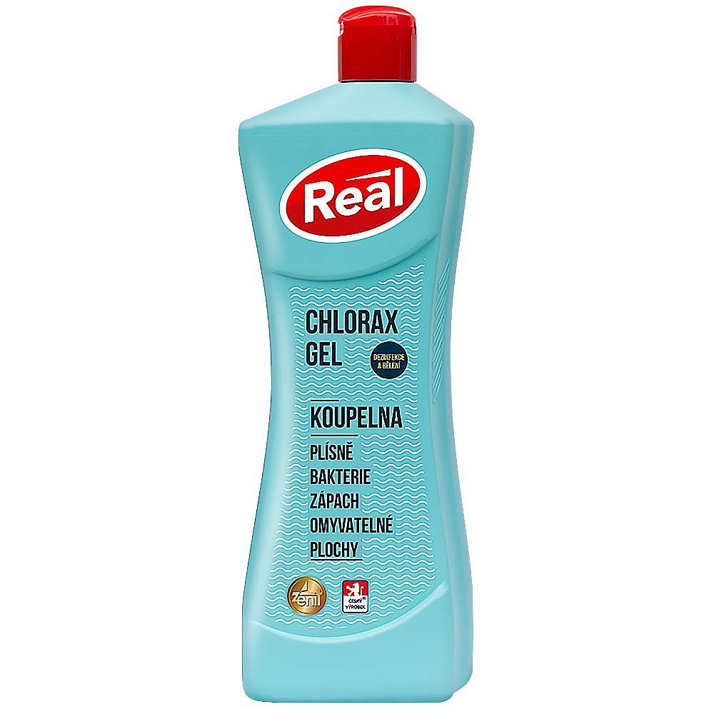 Real gel chlorax,750g uni čistič