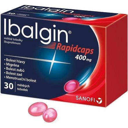 Ibalgin Rapidcaps 400 tobolky 30ks