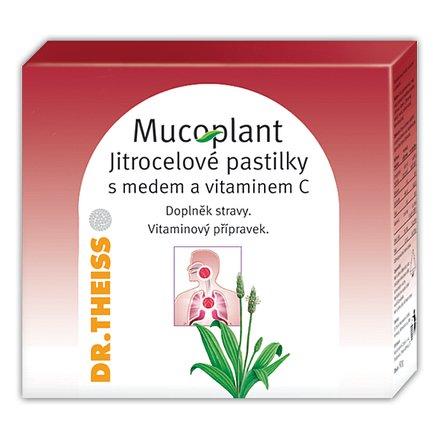 Mucoplant jitroc.pastilky med+vit.C 50g