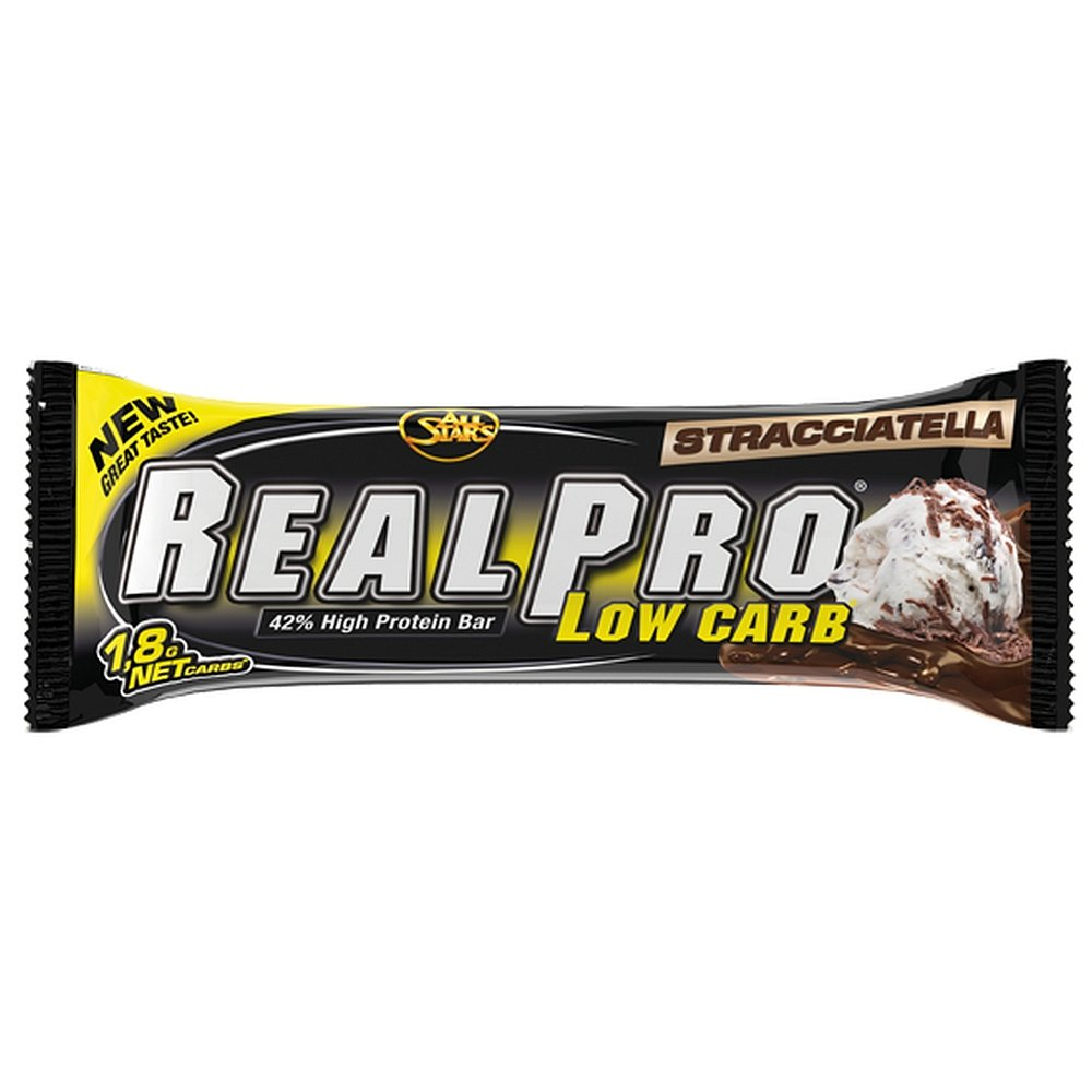 ALL STARS RealPro Low carb proteinová tyčinka straciatella 50 g