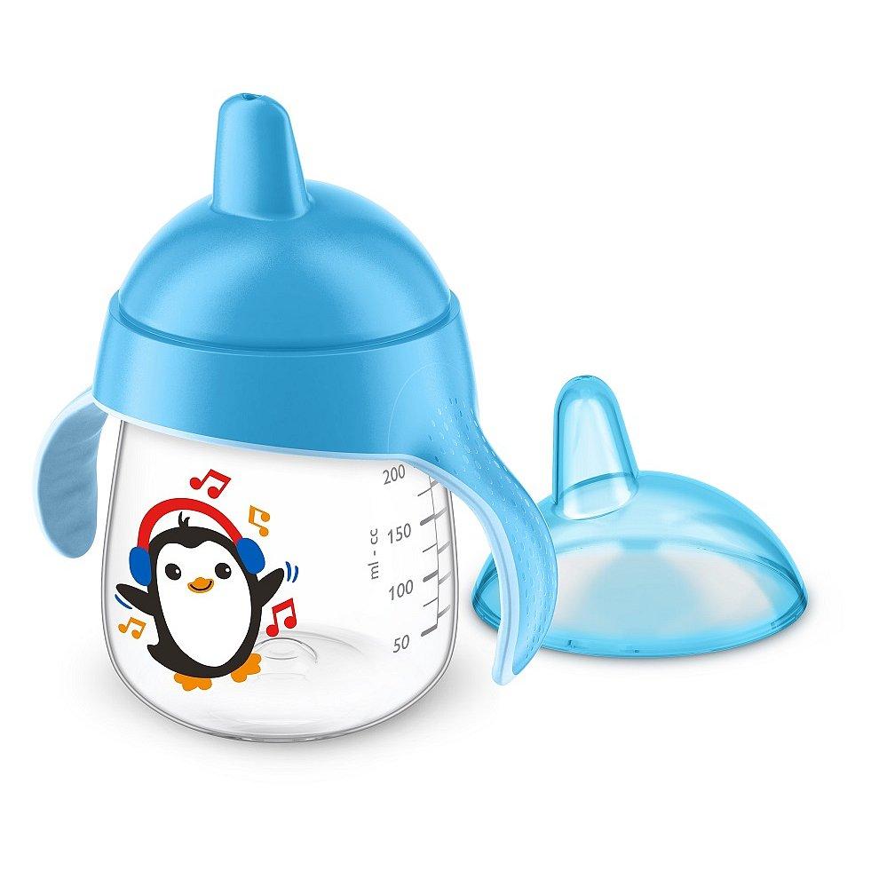 PHILIPS AVENT Hrneček pro první doušky Premium modrý 260 ml