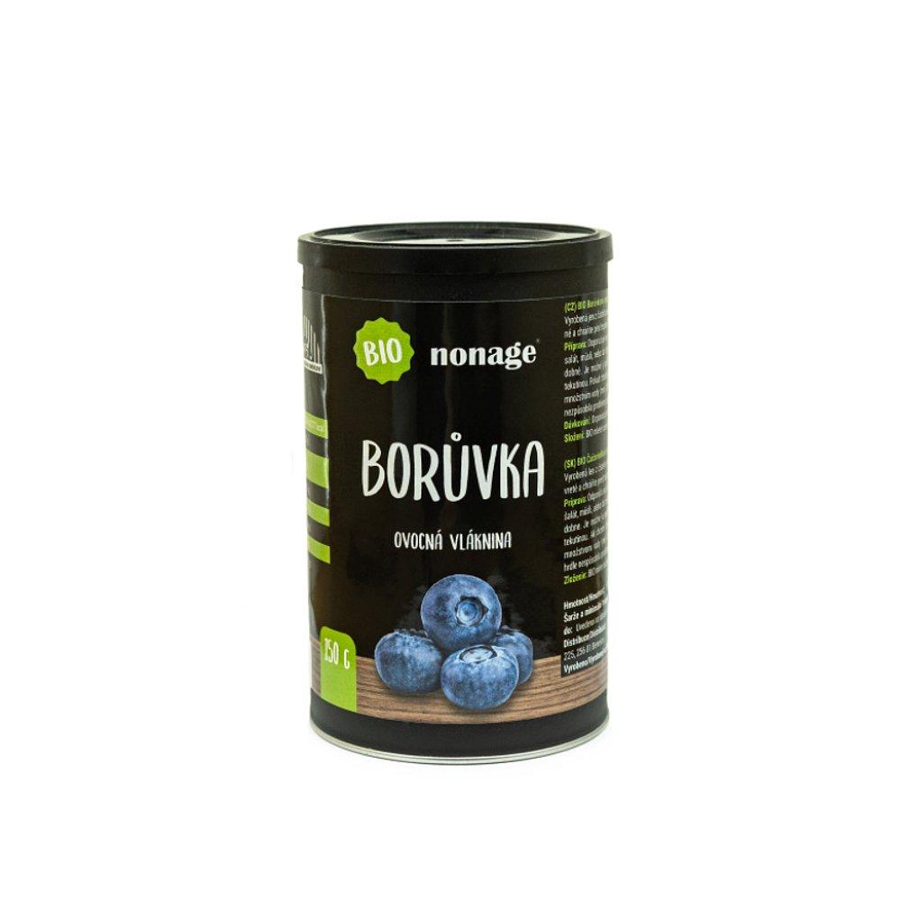 NONAGE Ovocná vláknina borůvka BIO 150 g