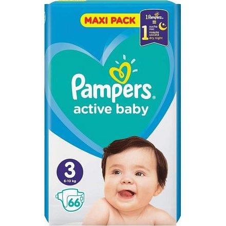 PAMPERS Active Baby VPP S3 66ks