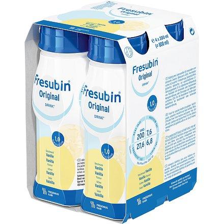 Fresubin original s vanil.příchutí perorální roztok 4 x 200 ml