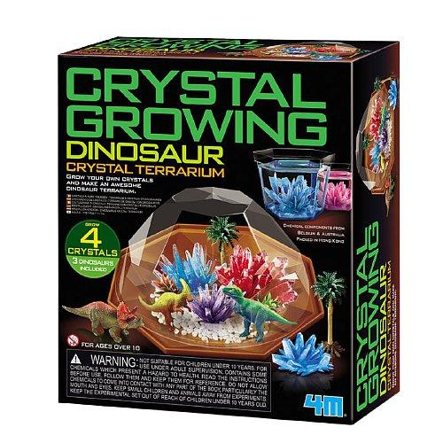 Mac Toys Dinosauří terárium s krystaly