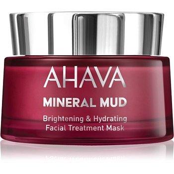 Ahava Mineral Mud rozjasňující pleťová maska s hydratačním účinkem  50 ml