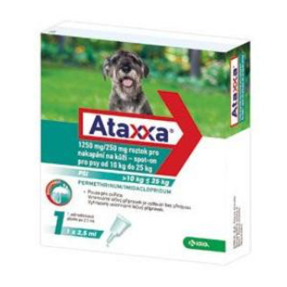 ATAXXA Spot-on Dog L 1250mg/250mg 1x2,5 ml