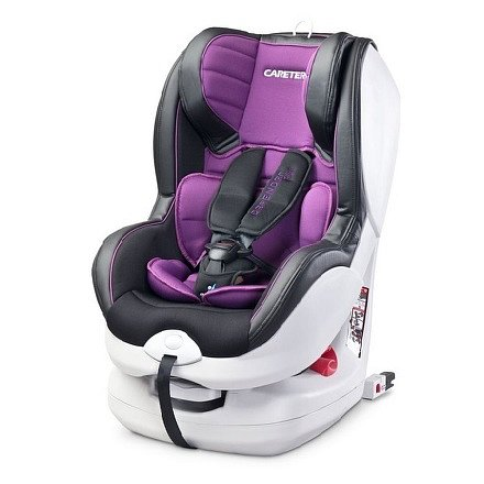 Autosedačka CARETERO Defender Plus Isofix purple 2016