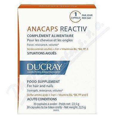 DUCRAY Anacaps Reactiv-reakční vypad.vlasů cps.30