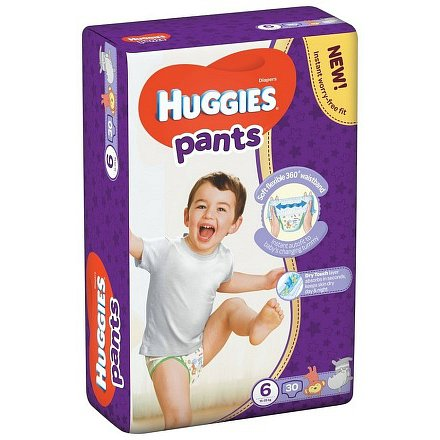 HUGGIES Pants Jumbo 6 15-25kg 30ks