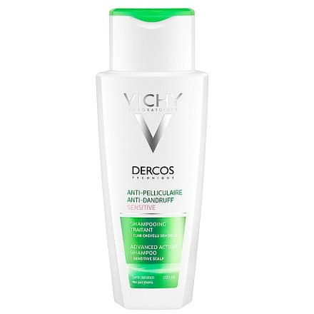 Vichy Dercos Šampon proti lupům pro citlivou vlasovou pokožku 200ml