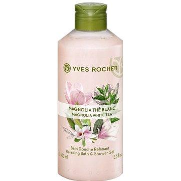 Yves Rocher Sprchový gel Magnólie & bílý čaj 400ml