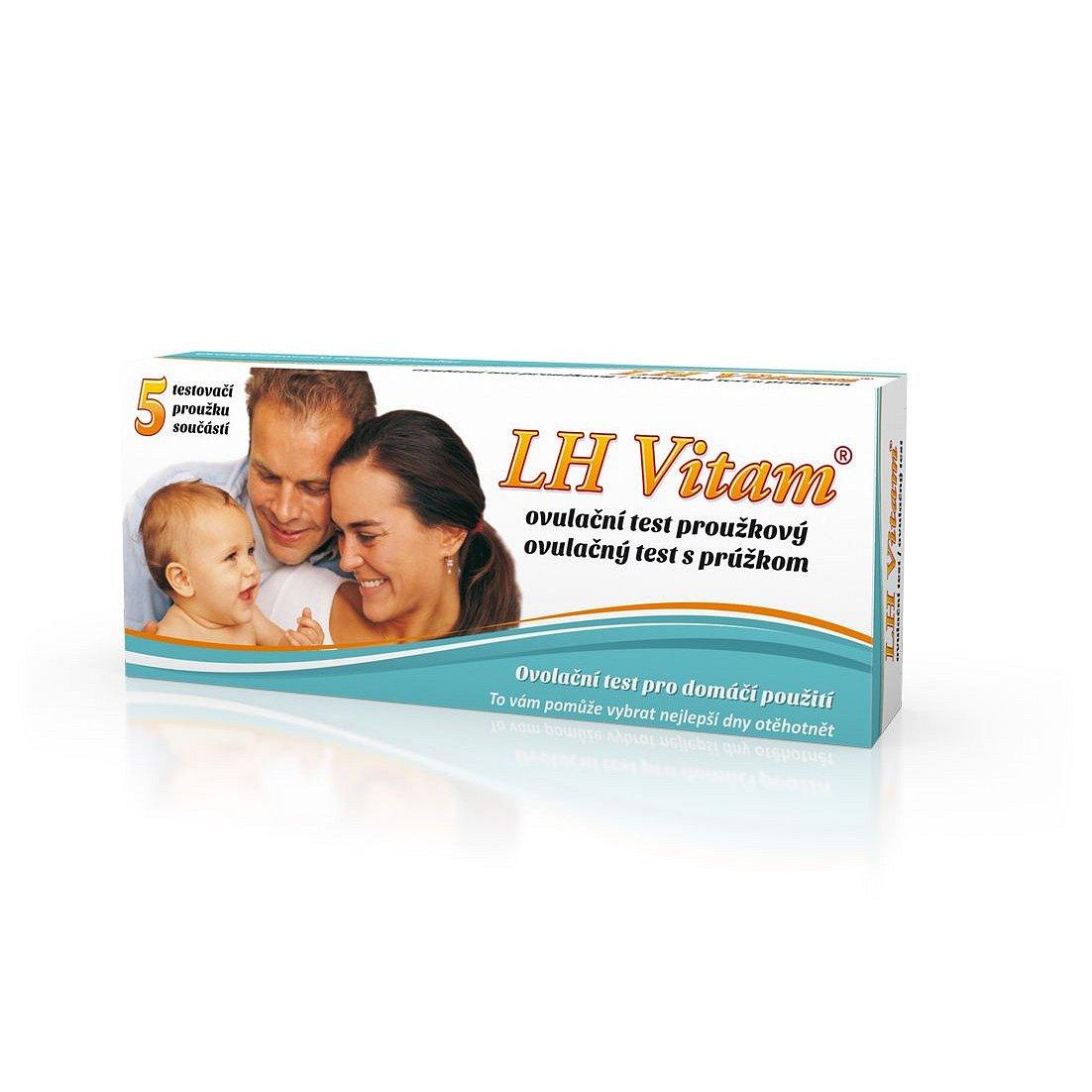 Biotter LH Vitam Ovulační test proužkový 5 ks