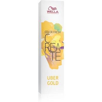 Wella Professionals Color Fresh Create vymývající se barva na vlasy odstín Uber Gold 60 ml