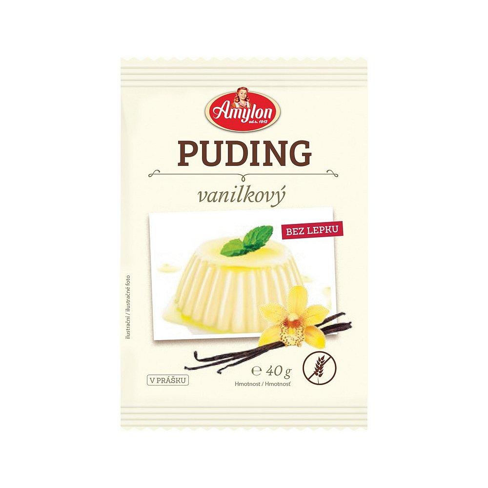AMYLON Puding vanilkový bez lepku 40 g