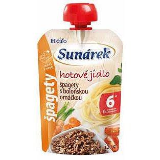 Sunárek špagety s boloňskou omáčkou 120 g