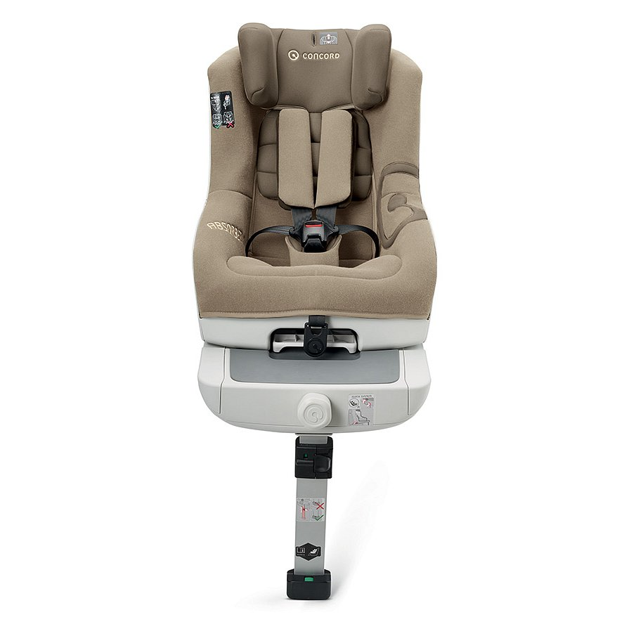 CONCORD Autosedačka ABSORBER XT (9-18 kg) - Almond Beige 2015