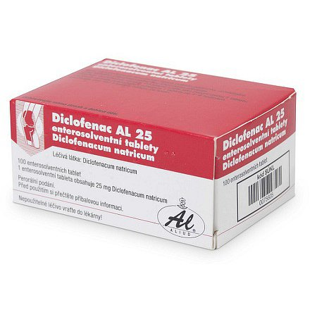 Diclofenac AL 25 tablety 100 x 25mg
