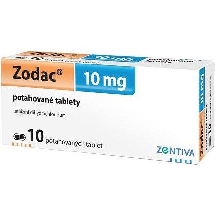 Zodac 10mg potažené tablety 10ks