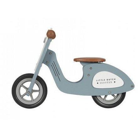 Odrážedlo Scooter dřevo Blue