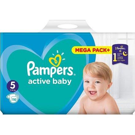 Pampers Active Baby Mega Pack S5 110ks