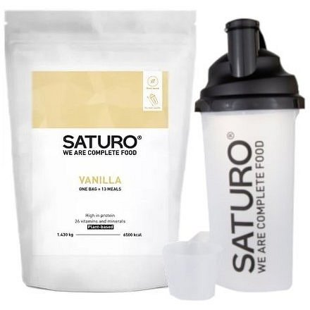 SATURO Prášek - Vanilla Starter Kit