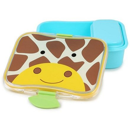 SKIP HOP Zoo Krabička na svačinu - 4-dílná Žirafa