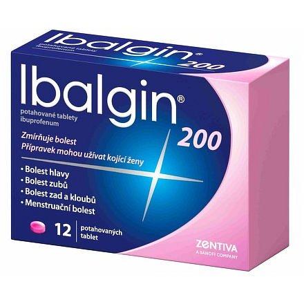 Ibalgin potahované tablety 12x200mg