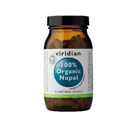 100% Organic  Nopal 90kapslí