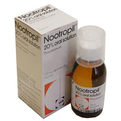 Nootropil 20 % Oral Solution perorální roztok 1 x 125 ml