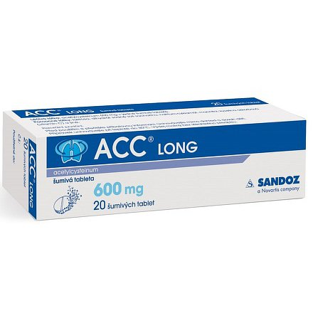 ACC Long 600mg tablety šumivé 20 ks