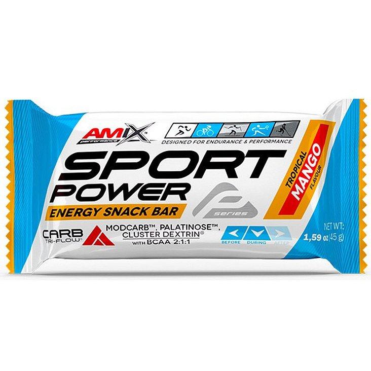 AMIX, Sport Power Energy Snack Bar, Mango, 45g